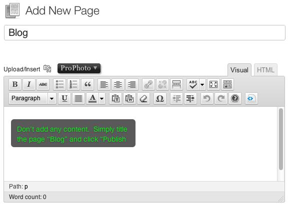 استفاده از وبلاگ در طراحی سایت