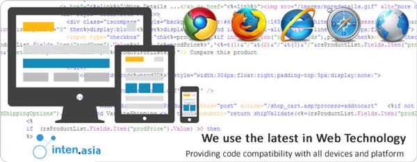 استاندارد های استفاده شده در طراحی سایت