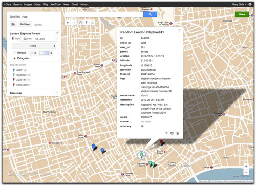 نقشه گوگل در طراحی سایت