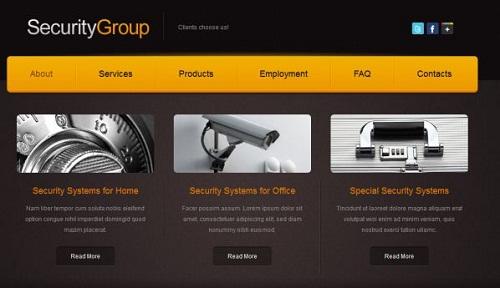 طراحی سایت دوربین مدار بسته