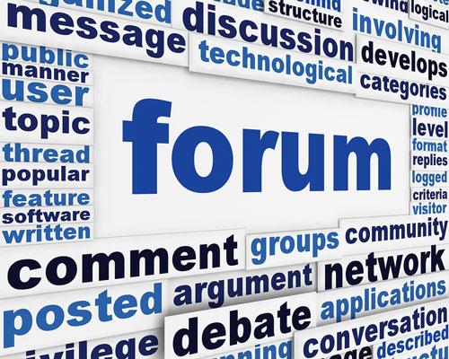 طراحی سایت فروم و انجمن