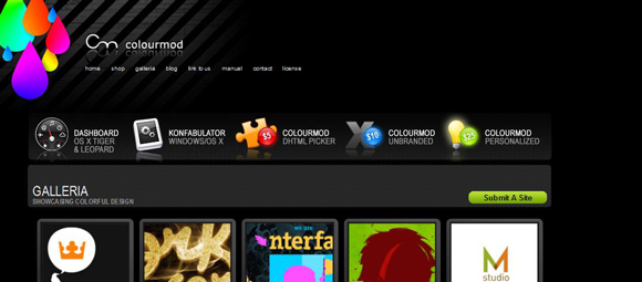 روانشناسی رنگ در طراحی سایت اینتن
