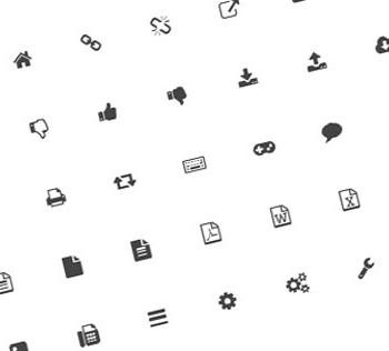 استفاده از فونت به جای آیکون ها در طراحی سایت