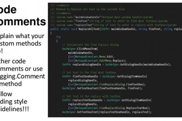 استفاده از کامنت در طراحی سایت اینتن