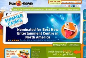 طراحی وب سایت تفریحی