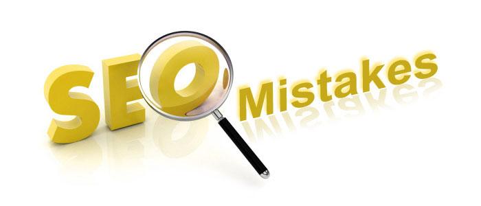 اشتباهات رایج در سئو وب سایت