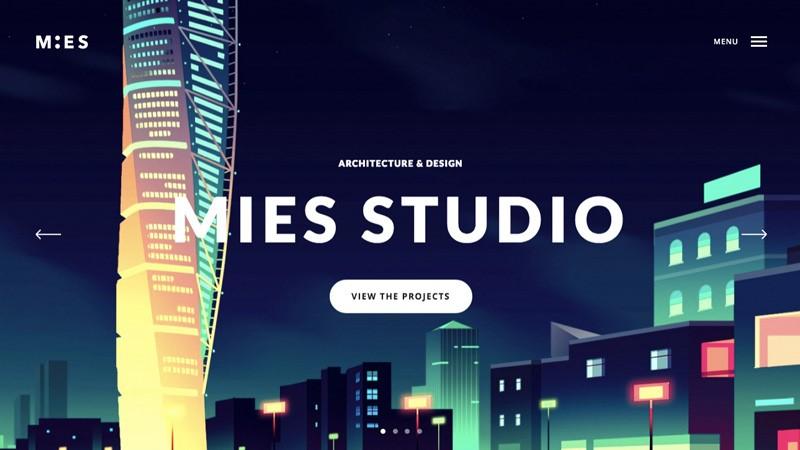 طراحی گرافیکی سایت