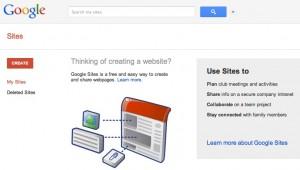 google-site-create-site