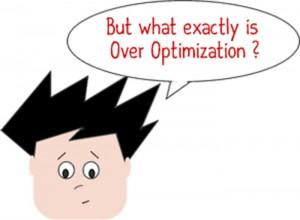وسواس در بهینه سازی | over optimization