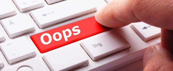 اشتباهات متداول در طراحی سایت