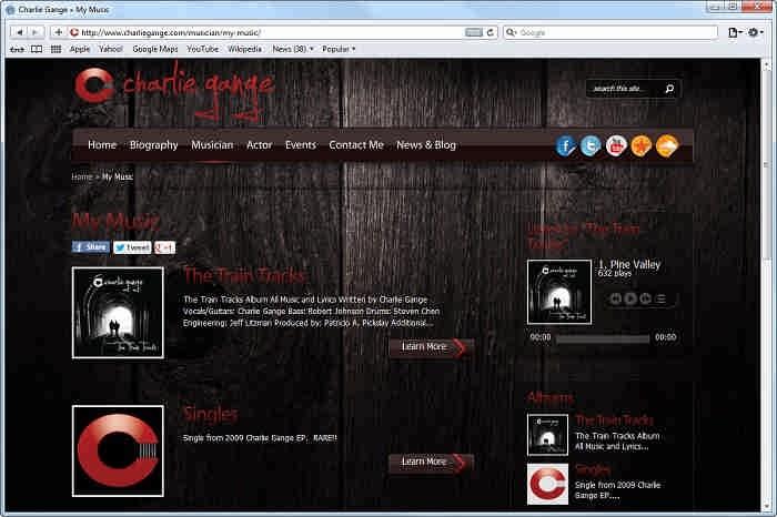 طراحی سایت دانلود اهنگ