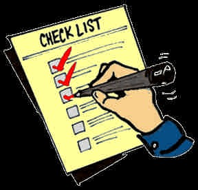 چک لیست طراحی سایت