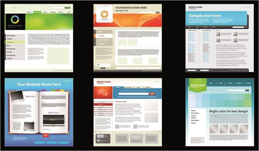 طراحی سایت با استفاده از قالب های آماده