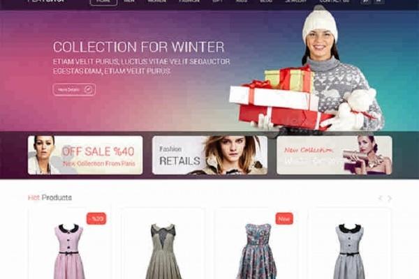 website shopping