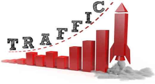 افزایش ترافیک