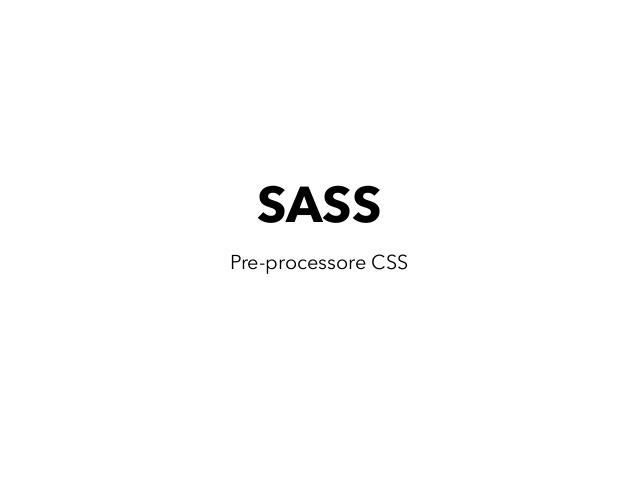 SASS در طراحی سایت