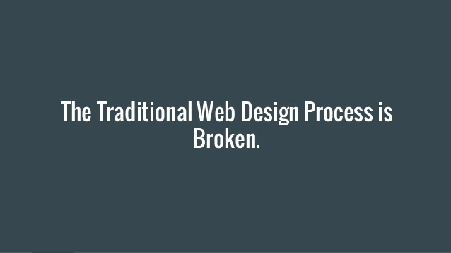 traditional web design
