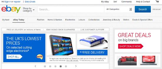 visible search box