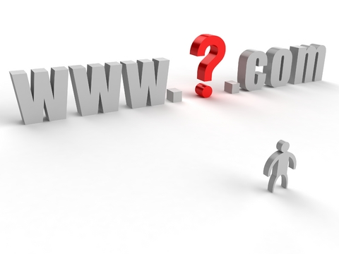 website domain name