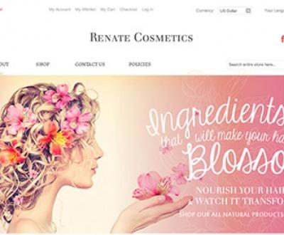 طراحی سایت آرایشی بهداشتی