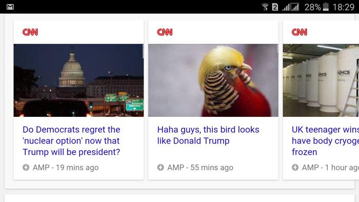 فریم ورک AMP گوگل برای طراحی سایت خبری