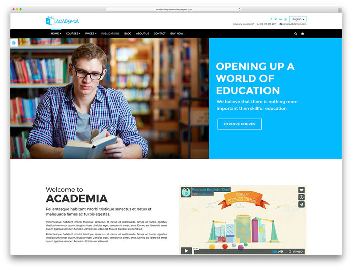 academia-classic-education-website-template