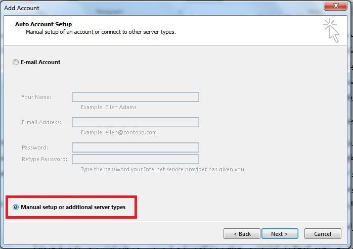 تنظیمات ایمیل شرکتی