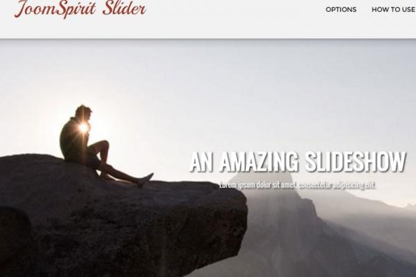 آموزش طراحی سایت | کار با افزونه ی Joom Sprit Slider