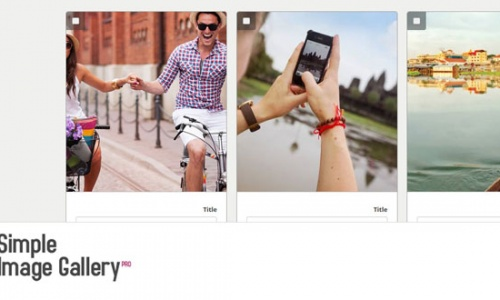 آموزش طراحی سایت کامپوننت گالری تصاویر Simple Image Gallery