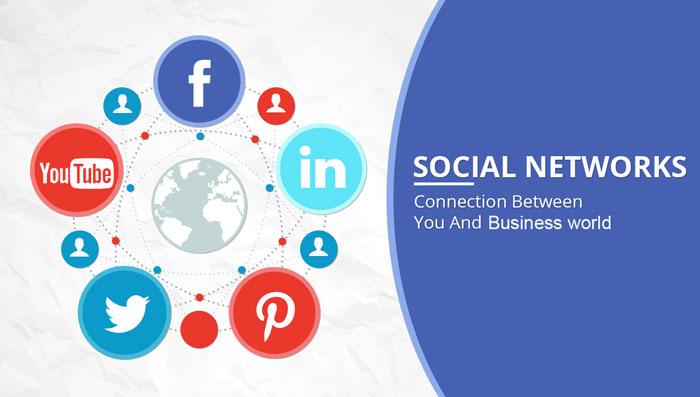 آموزش قرار دادن شبکه های اجتماعی در سایت