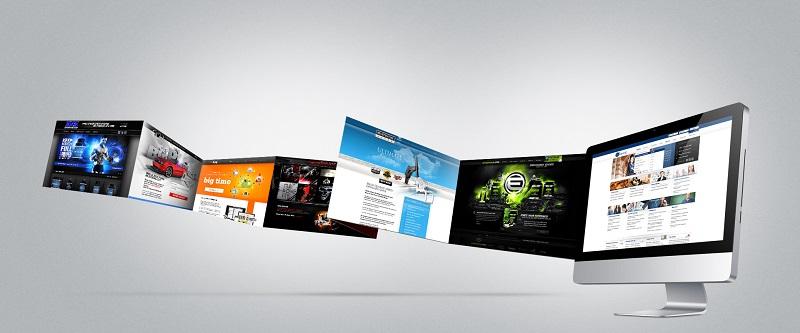سایت های زیبا از نظر طراحی