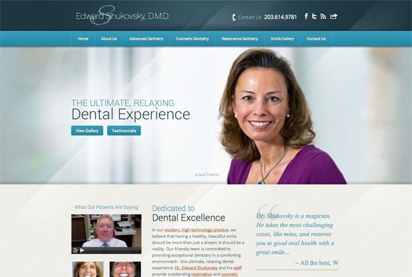 طراحی وب سایت دندانپزشکی