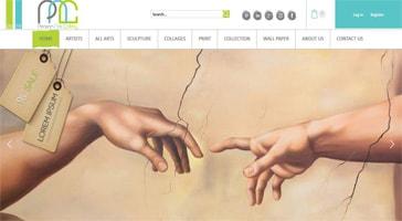 طراحی سایت فروشگاهی پرشین آرت