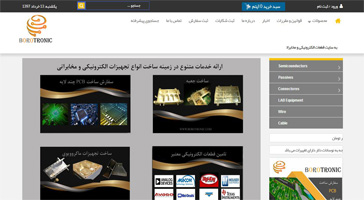طراحی سایت فروشگاهی بروترونیک