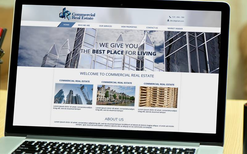 ایجاد وب سایت برای شرکت