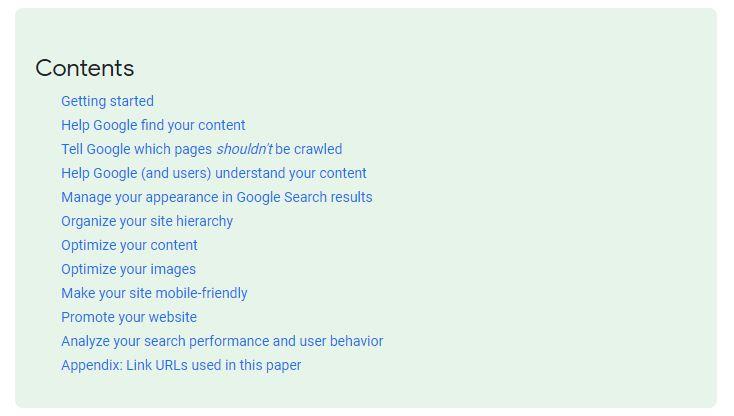 ترفندهای سئو سایت در Google.Com