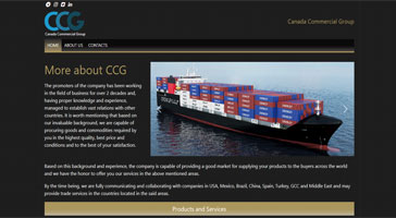 طراحی سایت-طراحی سایت گروه canadacg