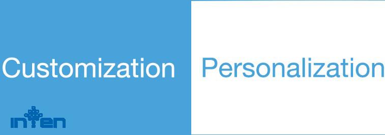 طراحی سایت-کاربرد و تفاوت بین سفارشی سازی و شخصی سازی