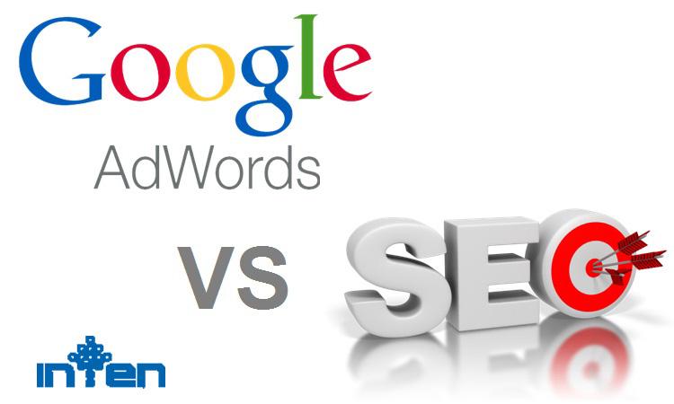 طراحی سایت-تفاوت SEO و Google adwords