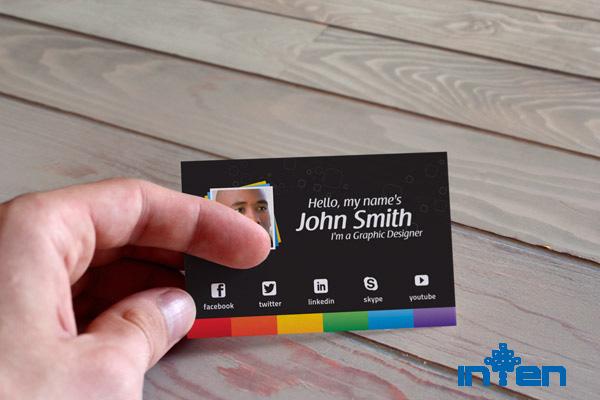 طراحی سایت-7 نکته در مورد طراحی کارت ویزیت