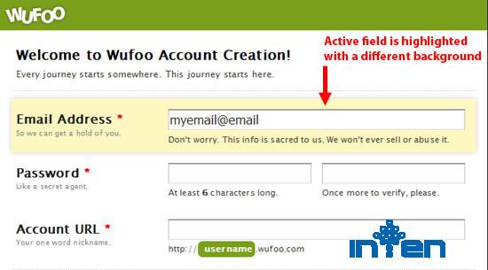 طراحی سایت-نکات بهینه سازی فرم ارسال در وب