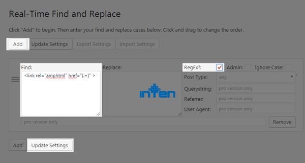 طراحی سایت-حذف محتوای AMP از جستجوی Google