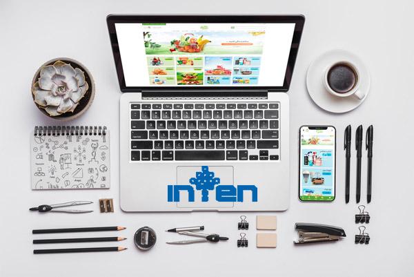 طراحی سایت سوپر مارکت انلاین