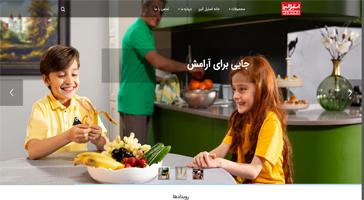 طراحی سایت استیل البرز