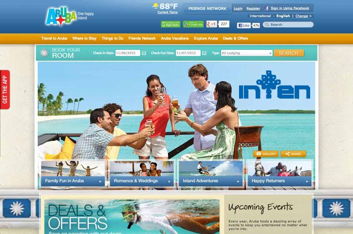 طراحی سایت توریستی